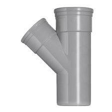 PVC T-stuk 45° Ø160-110 Manchet 2XMM 53364