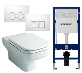 Geberit UP100 Inbouwreservoirset SP320