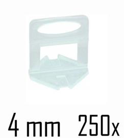 Titan Prof Tile Level Voetstuk 4 mm (250x)