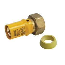 APE Gas 16x3/4 Bi Draaibaar Wartel