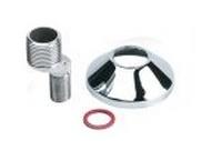 Bonfix S Koppeling 3/4x3/8 17,5mm Sprong met Rozet + Ring (1x)