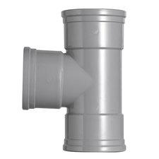 PVC T-stuk 90° Ø160-160 Manchet 3XMM 53397
