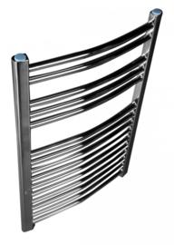 Demrad Design Radiator Chroom Gebogen Handdoekradiator