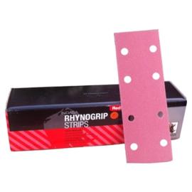 Indasa P40 Strook Schuurvel Rhynogrip Red 81x133 mm (50x)
