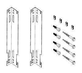 H-beugel 30cm (2 stuks)