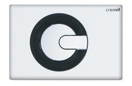 Creavit GP5001.02 Bedieningspaneel POWER WIT / ZWART