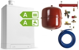 Intergas HRE24/18A CW3 Kombi Kompakt RF2 (A-label) + Ketelaansluitset
