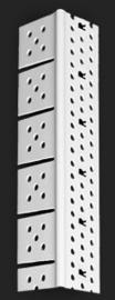 Hoeknaald 3767PVC (Toogprofiel) 300cm (2 mm)