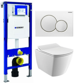 Geberit UP320 Inbouwreservoirset EG321 Rimless
