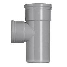 PVC T-stuk 45° Ø160-125 Manchet 2XMM 53367