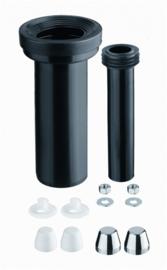 HAAS 3600 WC Aansluitgarnituur Ø90/110 t.b.v. Inbouwreservoir L=300 mm