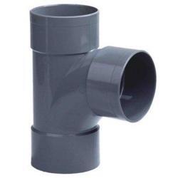 PVC Lijm T-stuk Ø75x75 mm 3XM 90° 52999