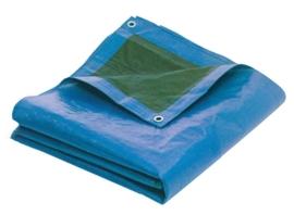 Dekkleed 2mx2m Blauw / Groen Heavy Quality (140g/m2)