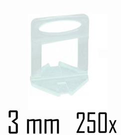 Titan Prof Tile Level Voetstuk 3 mm (250x)