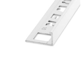 ELTEX Recht Alu Wit 8 x 2700mm OX-E211010135 Tegelprofiel