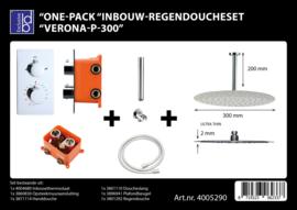 BD Verona P300 One-Pack Inbouw Regendoucheset 4005290