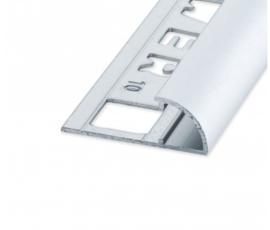 RONDEX Rond Alu Mat Zilver 6 x 2700mm OX-E160710127 Tegelprofiel
