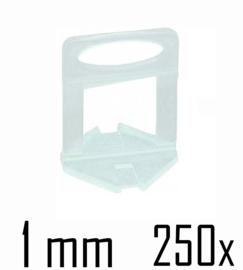 Titan Prof Tile Level Voetstuk 1mm (250x)