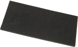 Schuurbord Kunststof Zwart