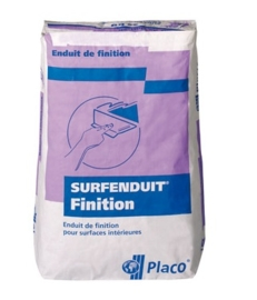 Gyproc Surfenduit Finition Dunpleister 25 KG WIT