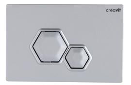 Creavit GP6002.00 Bedieningspaneel DIA MAT GRIJS