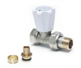 GK Recht Radiatorkraan (16 x 2) O-ring
