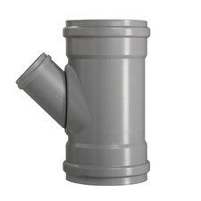 PVC T-stuk 45° Ø160-110 Manchet 3XMM 53389
