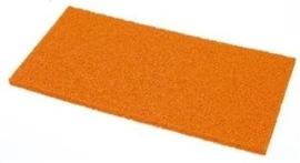 Schuurbord Kunststof Oranje