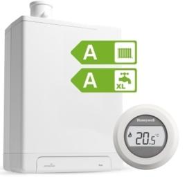 Intergas HRE24/18A CW3 Kombi Kompakt RF2 (A-label) + Honeywell Round On/Off T87G1006
