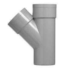 PVC Lijm T-stuk Ø32x32 mm M/M/S 45° 52945