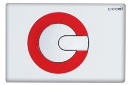 Creavit GP5001.01 Bedieningspaneel POWER WIT / ROOD