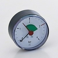 "Afriso Manometer 0-4 Bar Achter 1/4"" - Ø63 mm 63915"