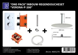 BD Verona P200 One-Pack inbouw regendoucheset 4005270