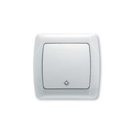 Schakelaar Lamp Impulsdrukker 90561003 Carmen Wit