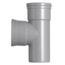 PVC T-stuk 90° Ø160-160 Manchet 2XMM 53369