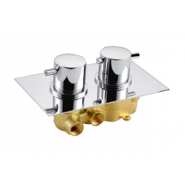 BD New Milano Inbouw Thermostaat Rond 3860810