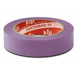 Kip 309-25 Masking Tape 25mm x 50m Fineline Washi Lila