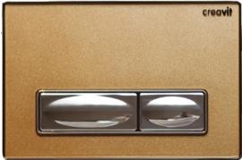 Creavit DESIGN Metaal / Glas Goud GP4008.00