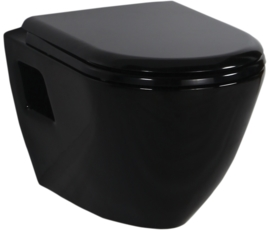 Creavit TP325 Black Wandcloset
