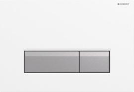 Geberit Bedieningsplaat Sigma40 W-MC Duofresh  115600KQ1