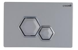 Creavit GP6003.00 Bedieningspaneel DIA MAT CHROOM