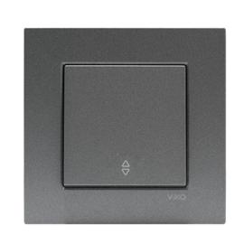 Kruisschakelaar 93000431 Novella Fume