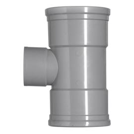 PVC T-stuk 90° Ø110-40 Manchet 1XLM 2XMM 53027