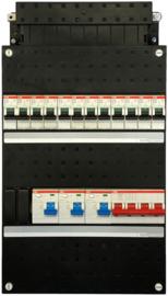 ABB HAF Groepenkast 3F 12 groepen 12x16A; 3xAL 40A; 1xHS 4P