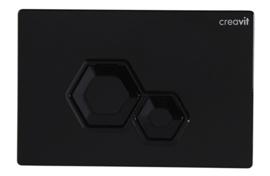 Creavit GP6002.02 Bedieningspaneel DIA GLANS ZWART