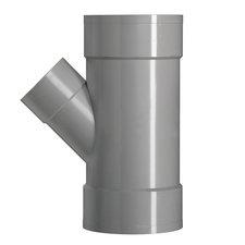 PVC Lijm T-stuk Ø75x40 mm 3XM 45° 52994
