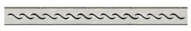C10 WAVE 50 cm Rooster voor douchegoot