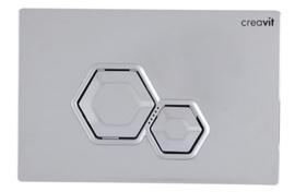 Creavit GP6004.00 Bedieningspaneel DIA GLANS CHROOM