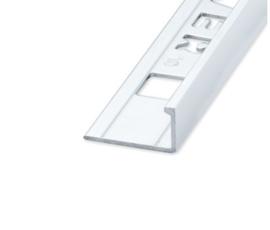 ELTEX Recht Alu Hoogglans 8 x 2700mm OX-E211010131 Tegelprofiel