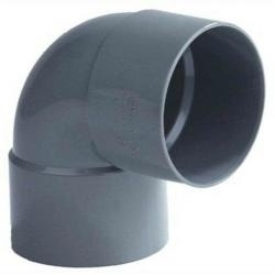 PVC Lijmbocht M/M 90° Ø125 mm 52928